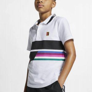 NikeCourt Advantage Junior Tennis Polo AR2381-100