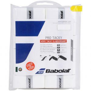 Babolat Pro Tacky Tennis Overgrips x 12 654009-101