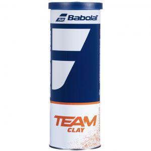 Babolat Team Clay Tennis Balls x 3 501082