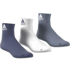 adidas 3-Stripes Performance Ankle Sport Socks x 3 CF7338