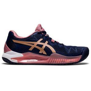 Asics Gel Resolution 8 Women's Tennis Shoes 1042A072-404