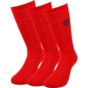 Bidi Badu Matayo Crew Tech Sport Socks x 3 A323040203-RD