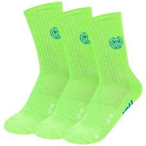 Bidi Badu Tamio Crew Tech Sport Socks x 3 A323010193-NGN