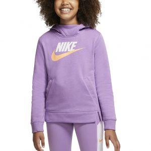 Nike Sportswear Girls' Pullover Hoodie BV2717-589