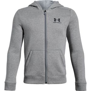 Under Armour Cotton Fleece Full Zip Boy's Jacket 1343677-035