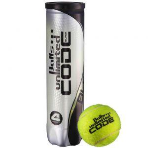 Topspin Unlimited Code Black Tennis Balls x 4