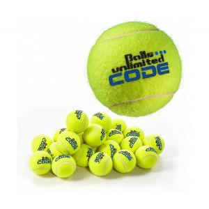 Topspin Unlimited Code Blue Tennis Balls x 60