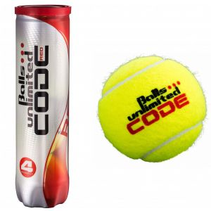 Topspin Unlimited Code Red Tennis Balls x 4