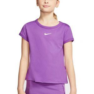 NikeCourt Dri-FIT Girl's Tennis Top