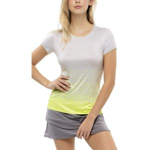 Lucky In Love Turn Up The Pleat Short Sleeve Women's Top CT794-H56710