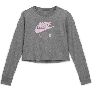 Nike Sportswear Girls' Long-Sleeve T-Shirt CV2186-091