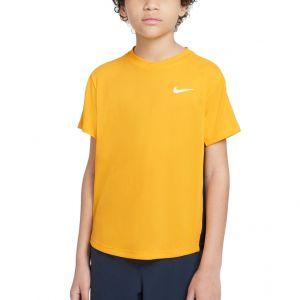 NikeCourt Dri-FIT Victory Big Kids' Short-Sleeve Tennis Top CV7565-739