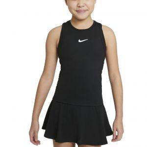 NikeCourt Dri-FIT Victory Girls' Tennis Tank CV7573-010
