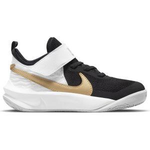 Nike Team Hustle D 10 Little Kids' Shoes CW6736-002