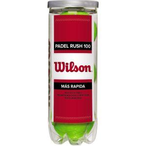 Wilson Padel Rush 100 Padel Balls x 3 WRT136500
