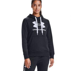 Under Armour Rival Fleece Logo Women's Hoodie Sweater 1356318-002