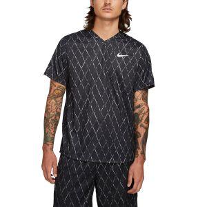 NikeCourt Dri-FIT Victory Men's Printed Tennis Top DA4366-010