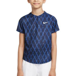 NikeCourt Dri-FIT Victory Boy's Tennis T-shirt DA4378-451