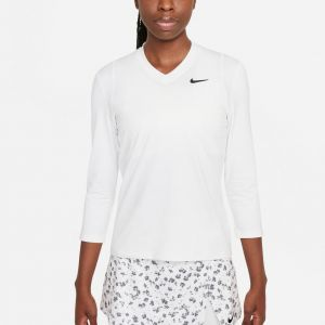 NikeCourt Dri-FIT UV Victory Women's 3/4-Sleeve Tennis Top DA4730-100