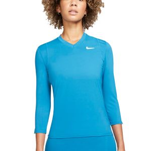 NikeCourt Dri-FIT UV Victory Women's 3/4-Sleeve Tennis Top DA4730-453