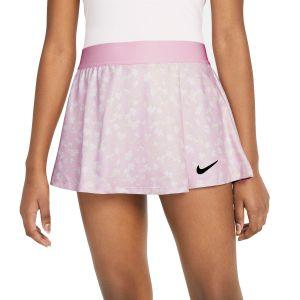 NikeCourt Dri-FIT Victory Girls' Printed Tennis Skirt DA4737-695