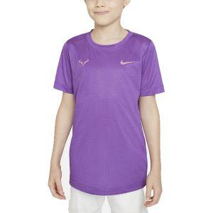 Rafa Big Kids' Tennis T-Shirt DD2304-528