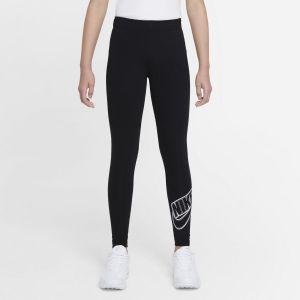 Nike Sportswear Favorites Girls' Graphic Leggings DD6278-010