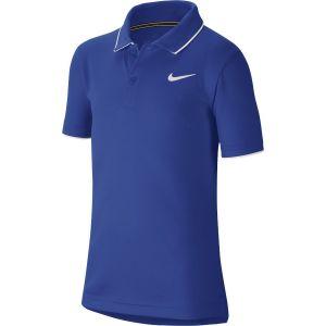 NikeCourt Dri-Fit Boy's Tennis Polo BQ8792-480