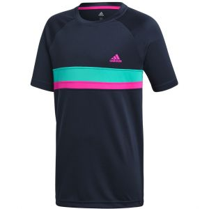 adidas Colorblock Club Boys' Tennis T-Shirt DH2775