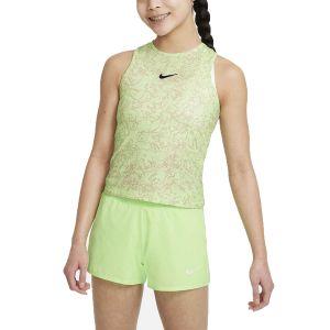 NikeCourt Dri-FIT Victory Girls' Printed Tennis Tank DJ2020-345