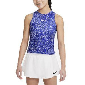 NikeCourt Dri-FIT Victory Girls' Printed Tennis Tank DJ2020-471