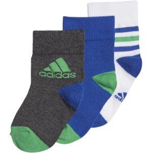 adidas 3 Pairs Kid's Ankle Socks x 3 DJ2271