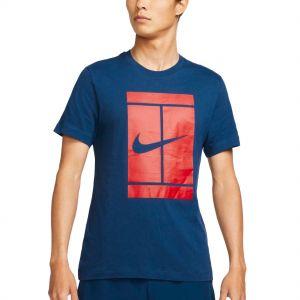 NikeCourt Men's Tennis T-Shirt DJ2594-429