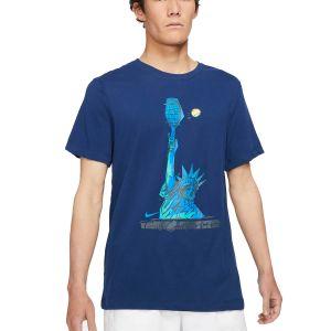 NikeCourt Dri-FIT Men's Tennis T-Shirt DJ2783-429