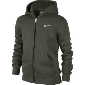 Nike YA76 Brushed Fleece Boy's Hoodie 619069-325