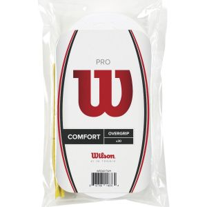 Wilson Pro Overgrips x 30 WRZ4017WH