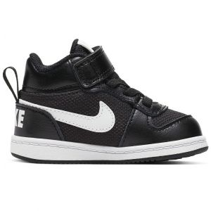 Nike Court Borough Mid PE Toddler's Sports Shoes (TD) CI2359-001
