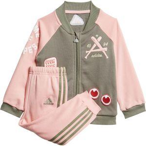adidas Infant Collegiate Girl's Tracksuit (TD) FM6406
