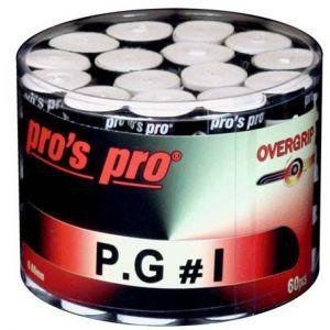 Pro's Pro P.G 1 Tennis Overgrips x 60 G067B