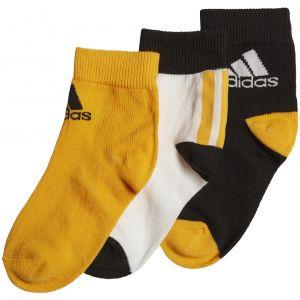 adidas 3 Pairs Kid's Ankle Socks x 3 GE3326