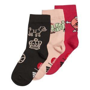 adidas 3 Pairs Cleofus Kid's Crow Socks x 3 GF0258