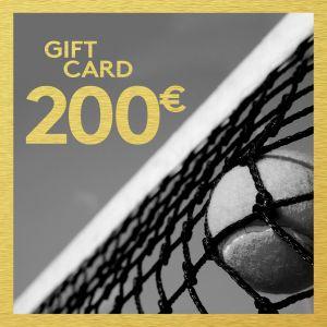 Gift Card 200 EUR ETENNIS-GIFT-200