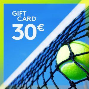 Gift Card 30 EUR ETENNIS-GIFT-30