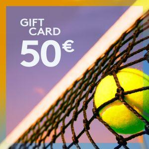 Gift Card 50 EUR ETENNIS-GIFT-50