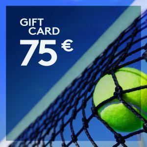 Gift Card 75 EUR ETENNIS-GIFT-75