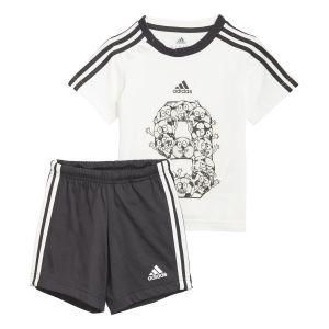 adidas Infant Lil 3-Stripes Summer Set  GM8966