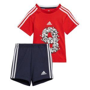 adidas Infant Lil 3-Stripes Summer Set