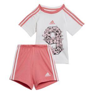 adidas Infant Lil 3-Stripes Summer Set  GM8968