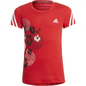 adidas 3 -Stripes Graphic Girls' Tennis T-Shirt