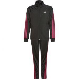 adidas Team Polyester Regular 3-Stripes Girls' Tracksuit GT6912